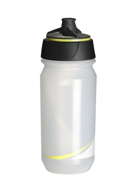 Tacx Shanti Twist Trinkflasche 500ml transparent/fluo gelb